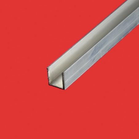 Profilé u aluminium 20x20