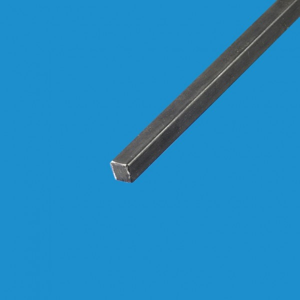 Fer carré plein en acier laminé 16x16 mm