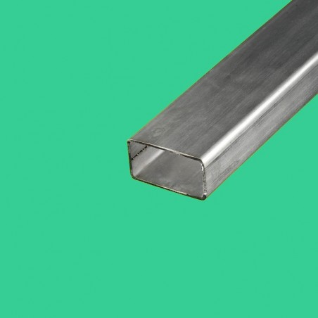 Tube rectangulaire inox 40x20 mm