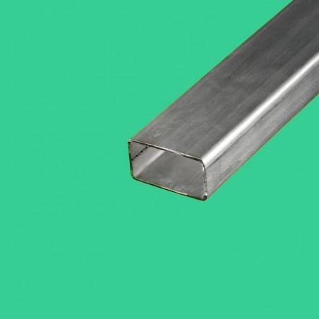 Tube rectangulaire inox 80x40 mm