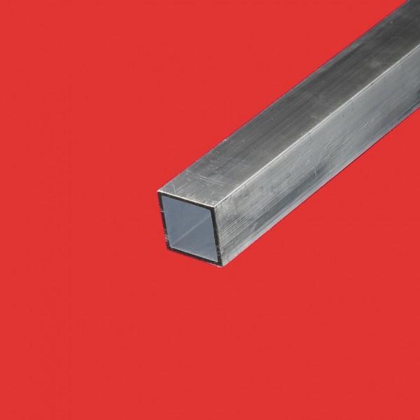 Tube carré aluminium 25x25