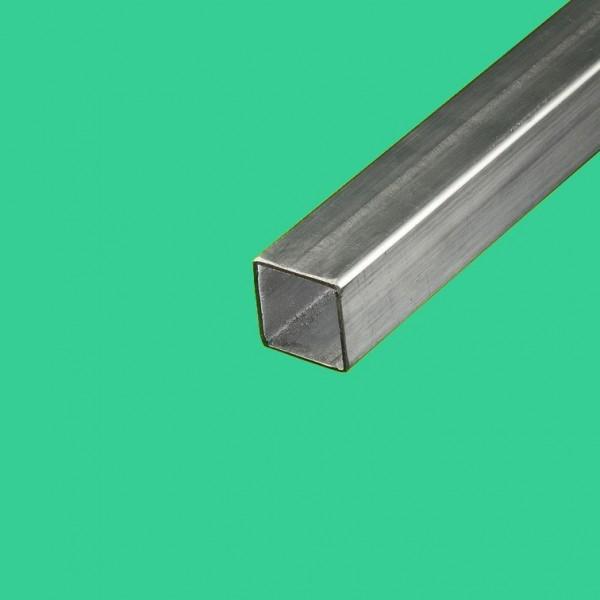 Tube inox brossé carré 30x30mm