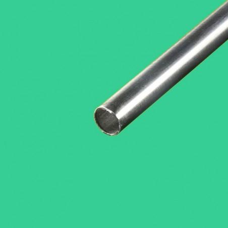 Tube inox brossé diametre 42,4