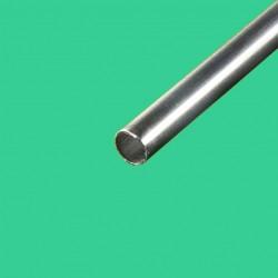 Tube inox brossé diamètre 26,9 mm