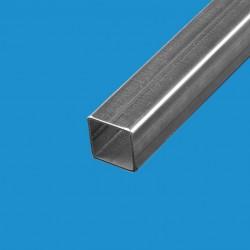 Tube carré acier décapé 50 x 50mm