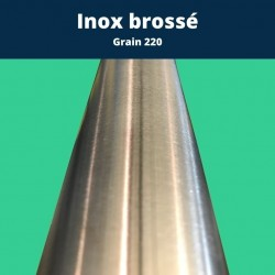 Tube inox carré 30 x 30 mm