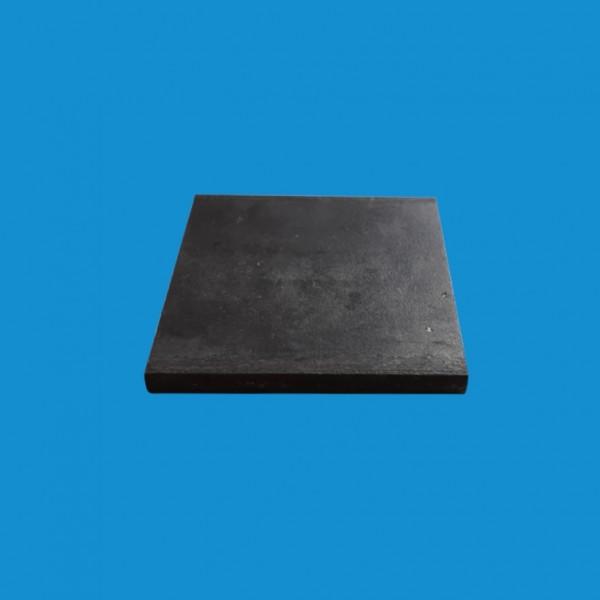 Platine acier 80 x 80 mm
