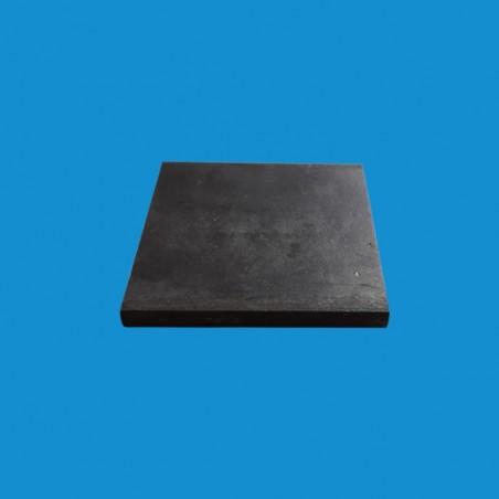 Platine acier 120 x 120 mm