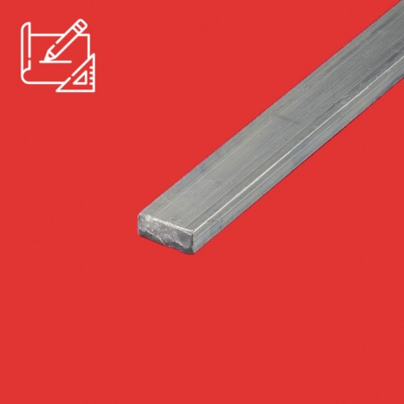 Barre aluminium plate sur mesure