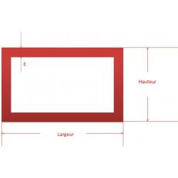 tube aluminium rectangle sur mesure