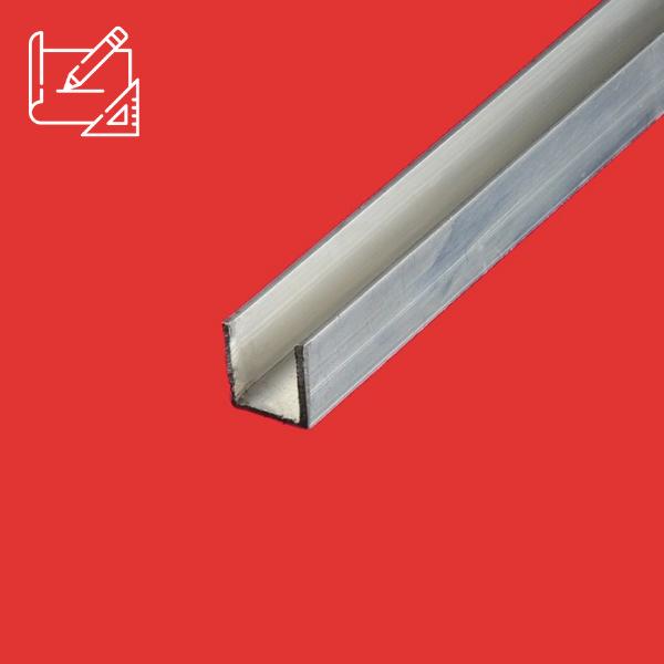 Profile u aluminium sur mesure