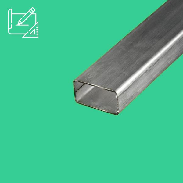 tube rectangulaire inox sur mesure
