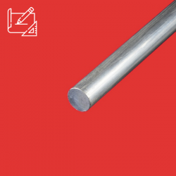 Rond plein aluminium sur mesure