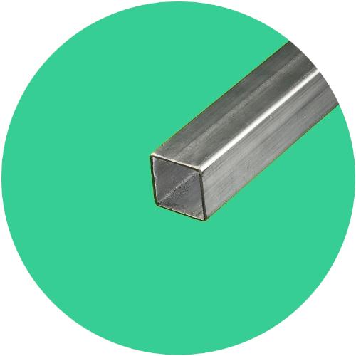 tube inox carré