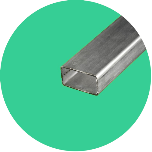 tube inox rectangulaire